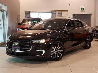 Used 2017 Chevrolet Malibu LT-NAVIGATION-CAMERA-LEATHER-PANO ROOF-ONLY 49KM for sale in York, ON