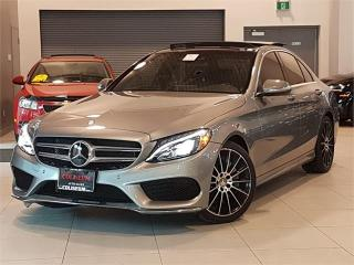 Used 2015 Mercedes-Benz C-Class C400 4MATIC-AMG-SPORT-NAVI-PANO ROOF-ONLY 32KM for sale in York, ON