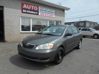 Used 2005 Toyota Corolla CE for sale in Saint-hubert, QC