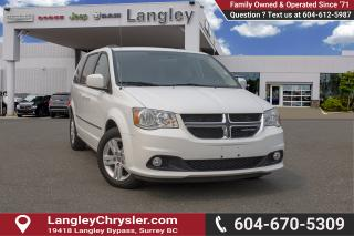 Used 2017 Dodge Grand Caravan Crew <B>*LOCAL *SINGLE OWNER * NO ACCIDENTS<B> for sale in Surrey, BC
