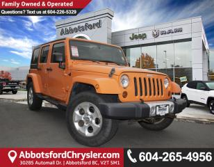 Used 2013 Jeep Wrangler Unlimited Sahara *OFF ROAD WARRIOR* for sale in Abbotsford, BC
