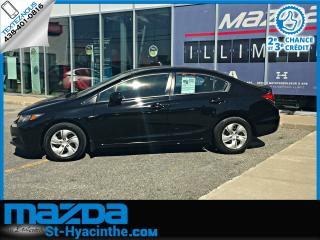 Used 2013 Honda Civic LX+SIEGE CHAUFFANT for sale in St-Hyacinthe, QC