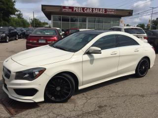 Used 2015 Mercedes-Benz CLA250 |AWD|NAVI|PANOROOF for sale in Mississauga, ON