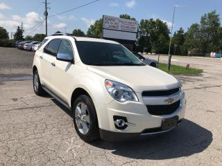 Used 2013 Chevrolet Equinox LTZ for sale in Komoka, ON