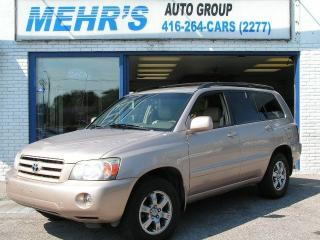 Used 2006 Toyota Highlander Loaded Leather 4WD No Accident for sale in Scarborough, ON