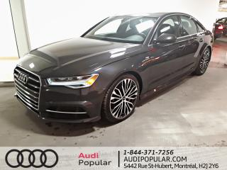 Used 2017 Audi A6 3.0T Technik berline 4 portes quattro for sale in Montréal, QC