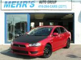 2010 Mitsubishi Lancer DE Auto Loaded No Accident One owner