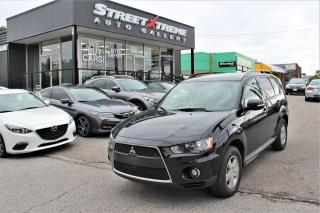 Used 2010 Mitsubishi Outlander LS | All Wheel Drive | Accident Free for sale in Markham, ON