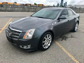 Used 2008 Cadillac CTS AWD W/GPS for sale in Mississauga, ON