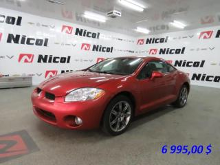 Used 2008 Mitsubishi Eclipse GT-P for sale in La Sarre, QC