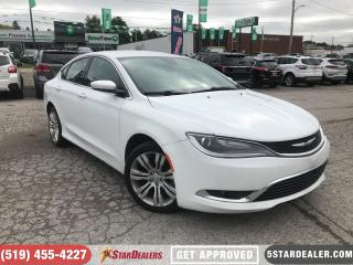 Used 2016 Chrysler 200 Limited | NAV | HEATED SEATS for sale in London, ON