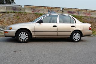 Used 1996 Toyota Corolla SD Sedan for sale in Vancouver, BC