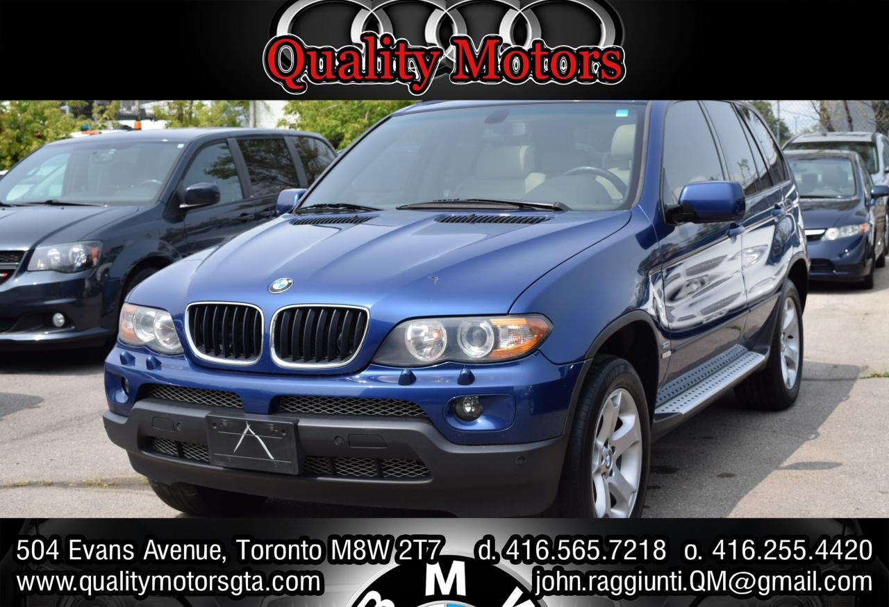 2006 BMW X5 Number 22 Toronto Maple Leafs Edition 3.0i