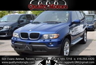 Used 2006 BMW X5 Number 22 Toronto Maple Leafs Edition 3.0i for sale in Etobicoke, ON