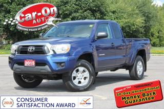 Used 2015 Toyota Tacoma V6 SR5 4X4 37, 000 KM REAR CAM for sale in Ottawa, ON
