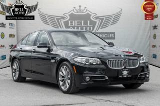 Used 2014 BMW 528 i xDrive PREMIUM PKG NAVI SUNROOF LEATHER BACK-UP CAMERA AWD for sale in Toronto, ON