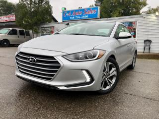 Used 2017 Hyundai Elantra 4dr SdnSE with sunroof and blind spot detection for sale in Brampton, ON
