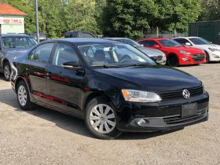 Used 2014 Volkswagen Jetta Sedan LOW KMS 2.0L Auto Trendline+ Bluetooth Power Group for sale in Holland Landing, ON