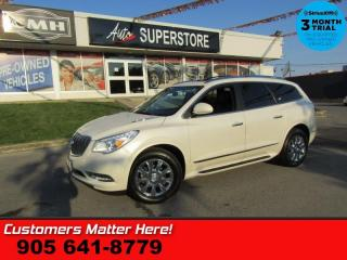 Used 2015 Buick Enclave Leather  AWD NAV DUAL-ROOF LD CW BS BOSE P/GATE HTD-S/W 7-PASS for sale in St. Catharines, ON