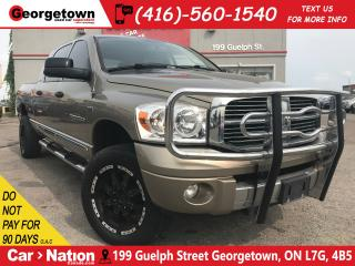 Used 2007 Dodge Ram 1500 Laramie | MEGA CAB | AS IS SPECIAL | 4X4 | V8 for sale in Georgetown, ON