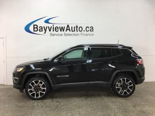 Used 2017 Jeep Compass Limited - REM START! HTD LTHR! NAV! SELEC-TERRAIN! U-CONNECT! for sale in Belleville, ON
