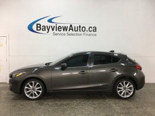 Used 2014 Mazda MAZDA3 GT-SKY - ALLOYS! TINT! SUNROOF! HTD LTHR! BOSE CRUISE! for sale in Belleville, ON