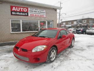Used 2007 Mitsubishi Eclipse GT V6 for sale in St-Hubert, QC