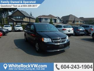 Used 2013 Dodge Grand Caravan SE/SXT BC Driven, 3rd Row & Remote Keyless Entry for sale in Surrey, BC