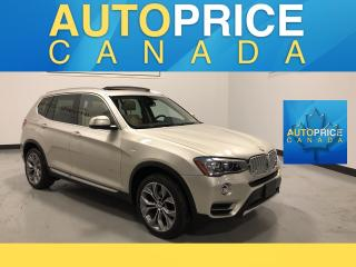 Used 2015 BMW X3 xDrive28d NAVIGATION|PANOROOF|LEATHER for sale in Mississauga, ON