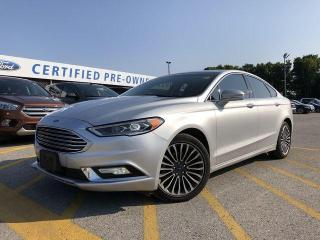 Used 2017 Ford Fusion SE |Heated Seats|Bluetooth|Navigation|Remote Start| for sale in Barrie, ON