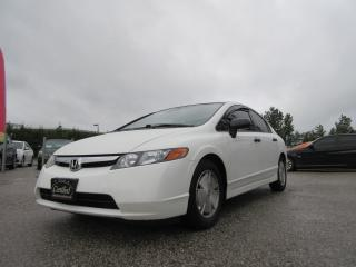 Used 2008 Honda Civic DX-G / AUTO / AC / ACCIDENT FREE for sale in Newmarket, ON