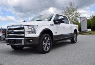 Used 2015 Ford F-150 SUPER CREW/4WD for sale in Parksville, BC