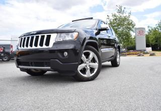 Used 2011 Jeep Grand Cherokee Limited PL/PW/AUTO/LEATHER/4X4/NA for sale in Parksville, BC