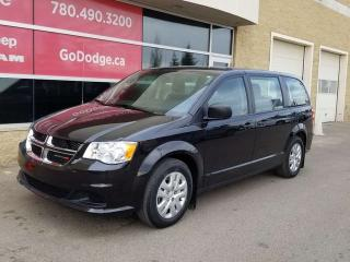Used 2018 Dodge Grand Caravan Canada Value Package / Back Up Camera for sale in Edmonton, AB