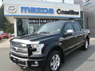 Used 2016 Ford F-150 PLATINUM for sale in Campbell River, BC