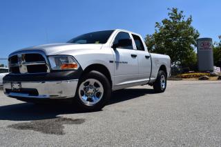 Used 2012 Dodge Ram 1500 PL/PW/AUTO/4X4/QUAD CAB for sale in Parksville, BC