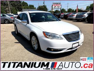 Used 2014 Chrysler 200 Limited-Camera-Sunroof-Leather Seats-New Tires-XM- for sale in London, ON