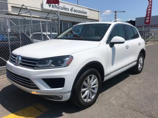 Used 2016 Volkswagen Touareg Comfortline V6 Toit for sale in Laval, QC