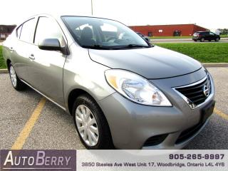 Used 2014 Nissan Versa SV - 1.6L for sale in Woodbridge, ON