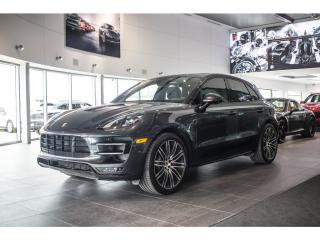 Used 2017 Porsche Macan Turbo Performance for sale in Laval, QC