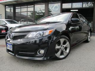 Used 2013 Toyota Camry SE-NAVIGATION-CAMERA-LAETHER-BLU-TOT for sale in Scarborough, ON