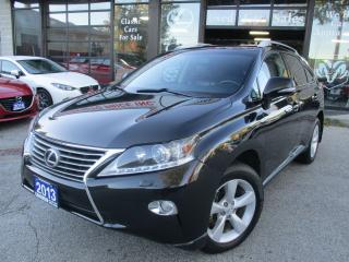 Used 2013 Lexus RX 350 PRM-PKG-CAMERA-AWD-LOADED for sale in Scarborough, ON