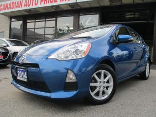 Used 2014 Toyota Prius c Technology-Hybrid-NAVIGATION for sale in Scarborough, ON