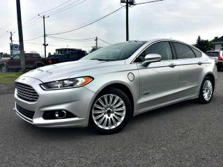 Used 2014 Ford Fusion Berline SE Luxury 4 portes Énergi cuir T for sale in Delson, QC