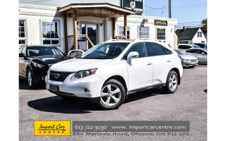 Used 2011 Lexus RX 350 AWD LEATHER ROOF HEATED&VENTILATED SEATS WOW!! for sale in Ottawa, ON