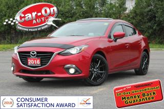 Used 2016 Mazda MAZDA3 GT Luxury LEATHER NAV SUNROOF REAR CAM LOADED for sale in Ottawa, ON