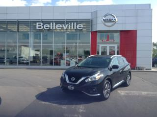 Used 2016 Nissan Murano SL AWD 1 OWNER LOCAL TRADE for sale in Belleville, ON