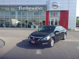 Used 2014 Nissan Altima 2.5 1 OWNER LOCAL TRADE for sale in Belleville, ON