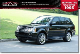 Used 2007 Land Rover Range Rover Sport HSE NAVIGATION/LEATHER/SUNROOF for sale in North York, ON