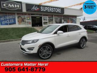 Used 2015 Lincoln MKC Reserve  AWD TECH-PKG ADAP-CC LD CW COOLED-SEATS NAV PANO-ROOF for sale in St. Catharines, ON